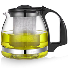 700ml Creative Heat-Resistant BPA Free Blast-proof Glass Water Pot Kettle Tea Bottle With Stainless Stell Strainer