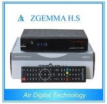 10 unids/lote Aire Digital Original Enigma2 Linux os HD DVB S2 receptor de Satélite ZGEMMA H. S de Doble Núcleo caja de la tv inteligente