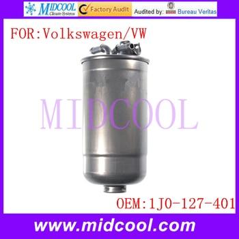 New Auto Diesel Fuel Filter & Check Valve use OE NO. 1J0-127-401 for VW Volkswagen Beetle Golf Jetta Passat