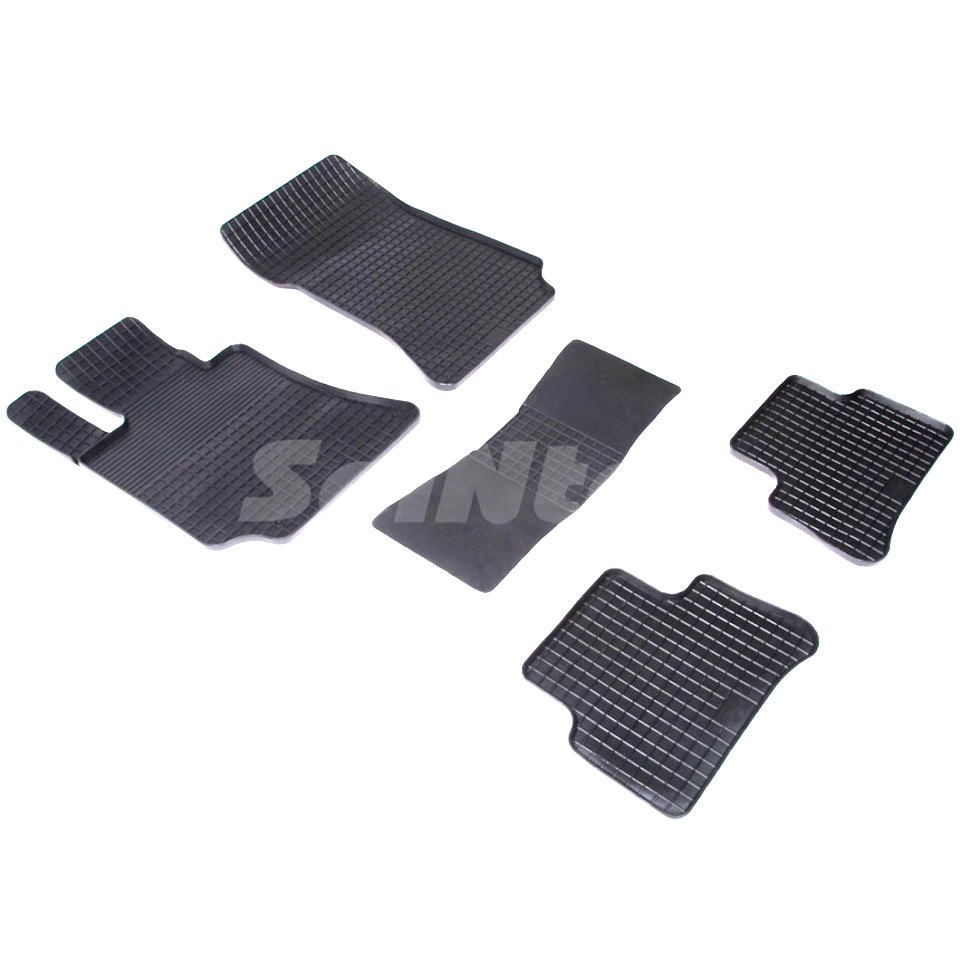 Rubber grid floor mats for Mercedes-Benz E-class W212 2009 2010 2011 2012 2013 2014 2015 Seintex 81914 fender eliminator license plate bracket kit set for yamaha yzf r1 2009 2010 2011 2012 2013 2014 moto accessories