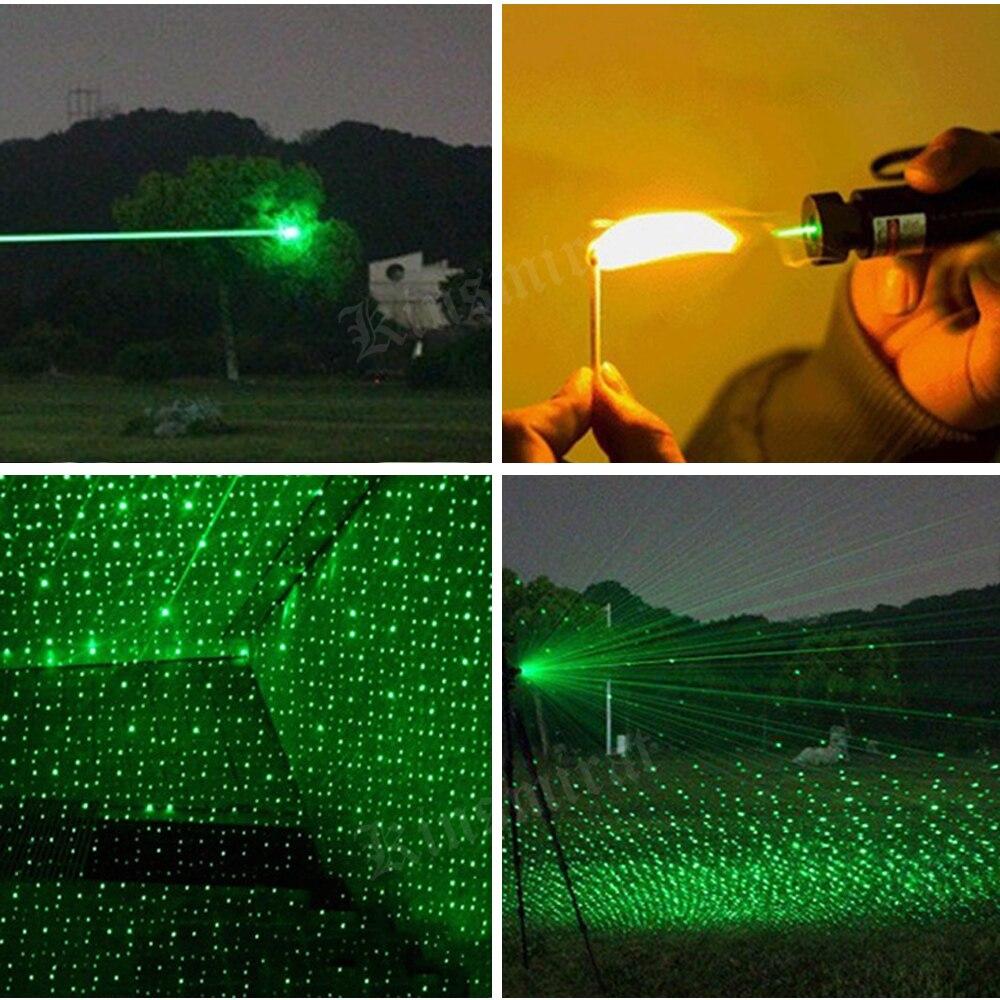 Күшті лазер меңзері көрінісі 532nm - Аңшылық - фото 3