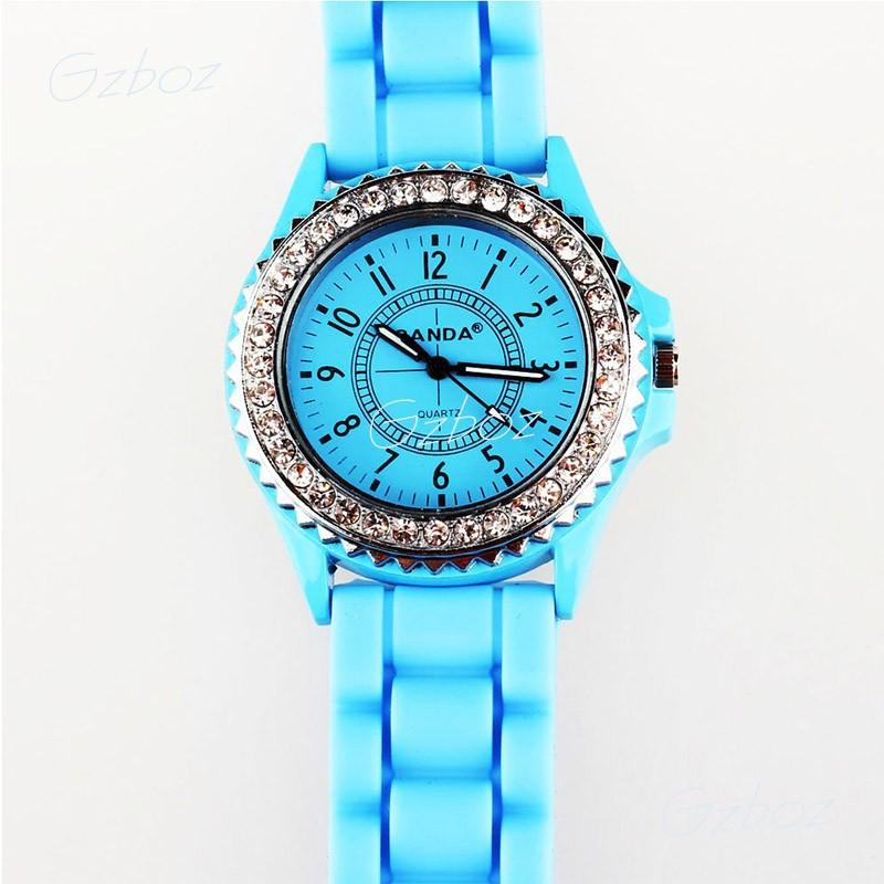 Hits распродажа мода кремния кварцевые часы, мужские часы или женщина спортивные часы 11 цветов для выбора zb2228
