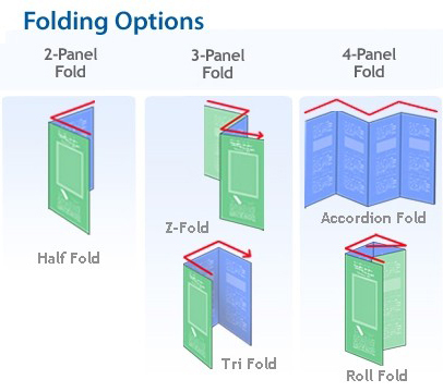 Custom made special die cut folding flyers brochures with business 7 diecutting available reheart Image collections