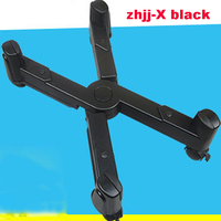 Hardware Computer mainframe bracket computer accessories bracket zhjj X black