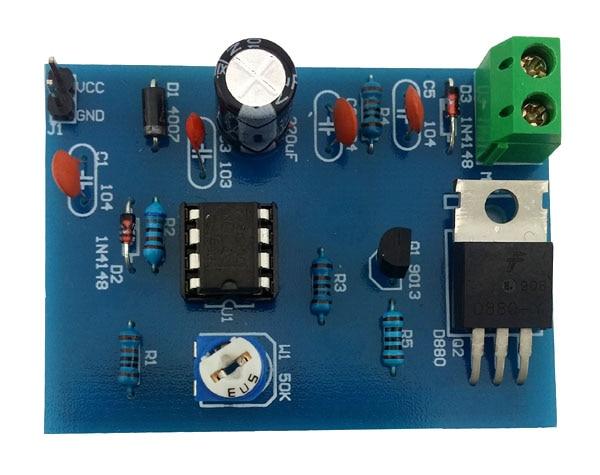 555 Pulse Width Modulation Circuit