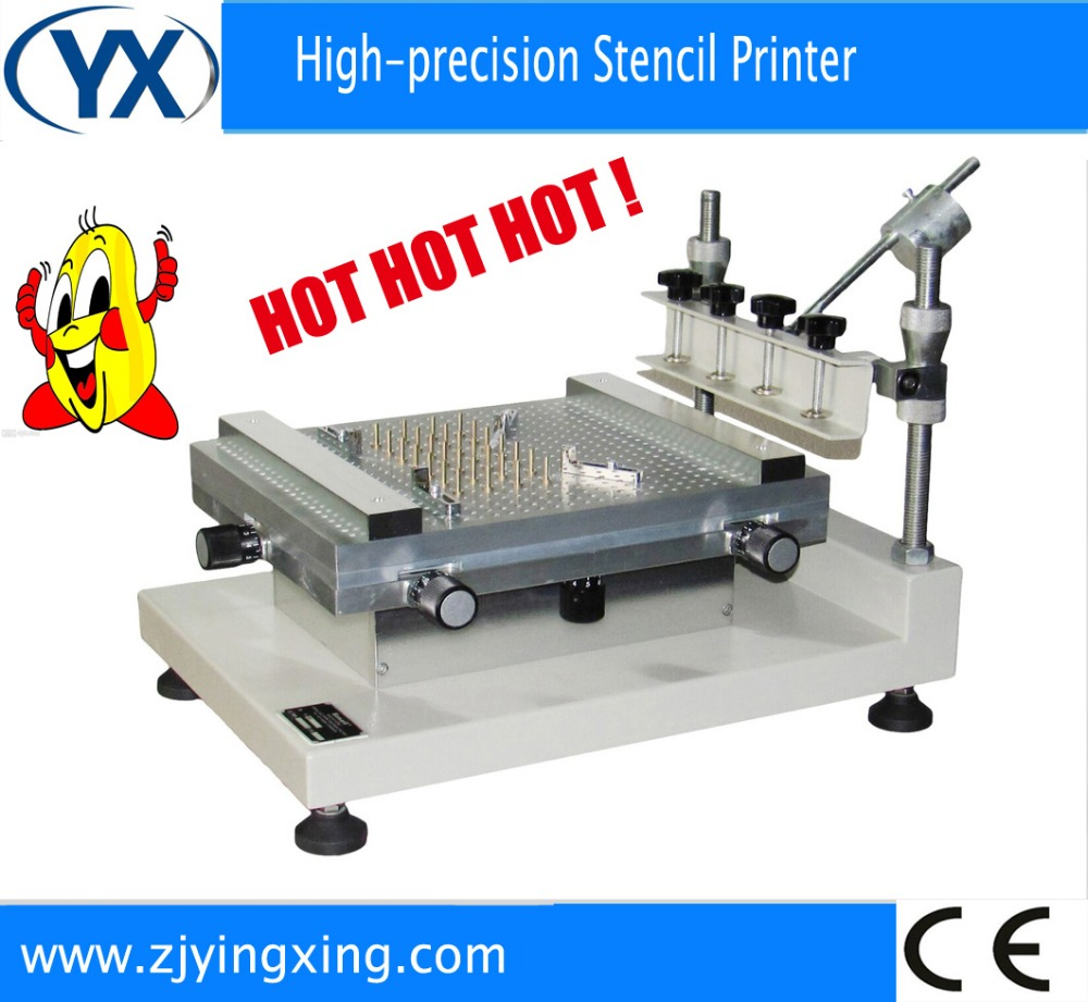 Best Precision Screen Stencil Printer YX3040 Pick and Place Robot Machine,Solder Paste Printer SMT Mounter