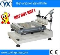 Beste Precisie Screen Stencil Printer YX3040 Pick en Plaats Robot Machine, Soldeerpasta Printer SMT Mounter