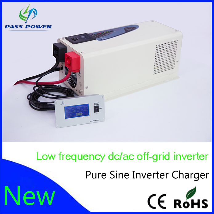 Smart Low Frequency Pure Sine Wave Power Inverter 12VDC To 220VAC ...