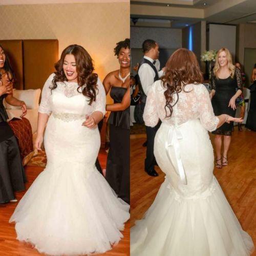 Buy new vintage lace mermaid wedding for Plus size wedding dresses utah