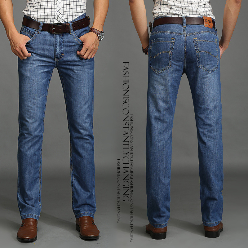 SU LEE jeans men High quality straight jeans Brand men s trousers men pants male cotton