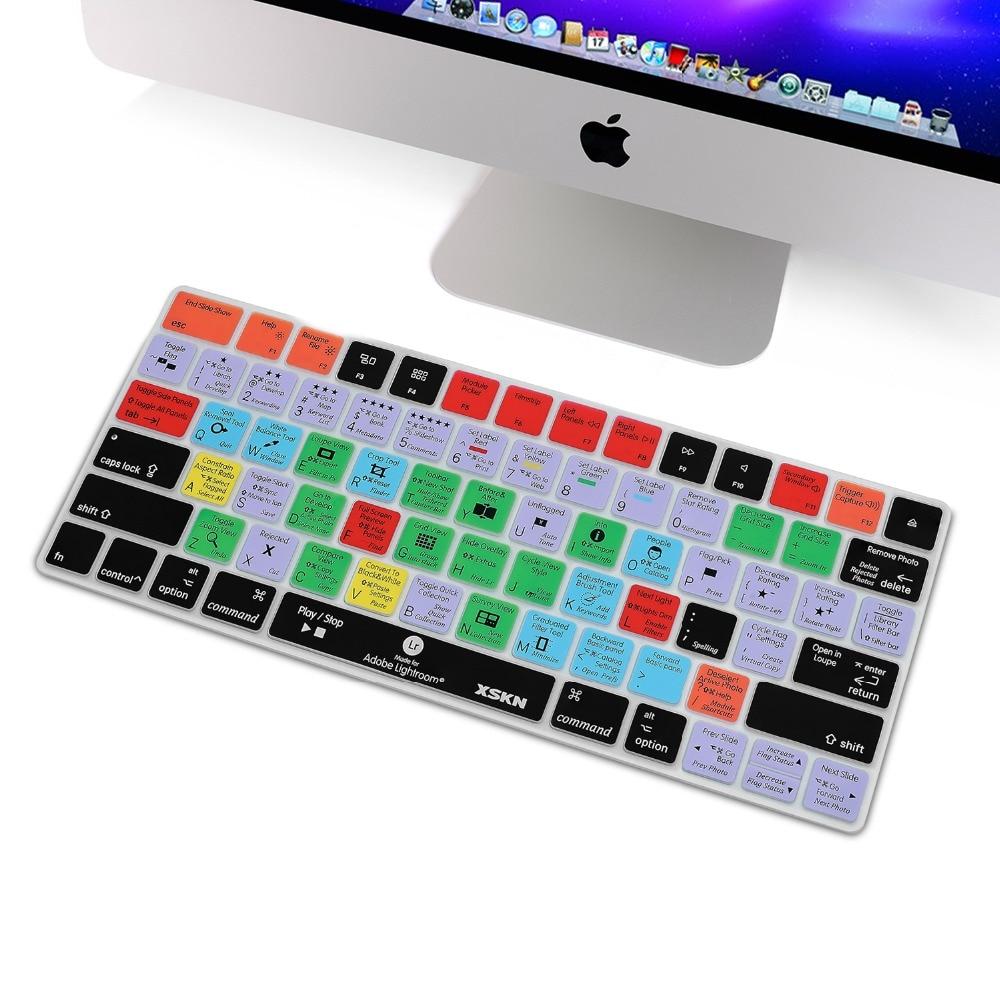 Voor Apple Magic Toetsenbord Lightroom Snelkoppeling Toetsenbord Cover,  XSKN Duurzaam LR Snelkoppelingen Toetsenbord Skin Voor Magic Toetsenbord  MLA22LL/Een