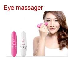 Tragbare Anti-Auge Tasche Schwarz Auge schönheitspflege instrument Elektrische augenmassage stift Mini vibrationen Beutel massage stift