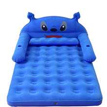 152CM 203CM 22CM Thickened Folding Bed Inflatable Mattress Cushion Totoro Cartoon Bed Matras Double Sleeping Fillings