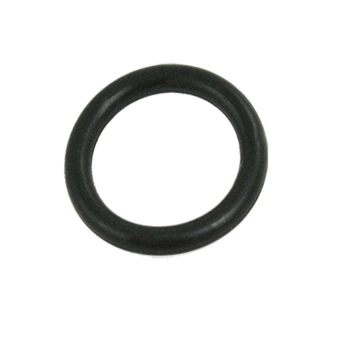 50 Pcs 45mm x 39mm x 3.5mm Mechanical Fluorine Rubber O Ring Oil Sealing Washers