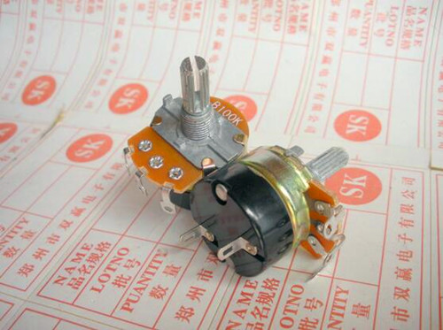 Free Shipping!!  138 / With Switch Potentiometer / Dimmer Governor / B50K-15 250K-20 Rachis /Electronic Component