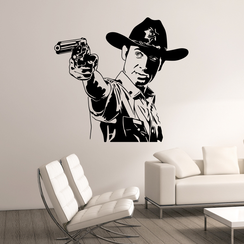 Aliexpress.com : Buy Art Design Movie Walking Dead wall ...