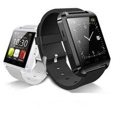 Hohe Qualität U8 Bluetooth Smart Uhr U Uhren Touch Sport Handgelenk Passometer Armbanduhr Smartwatch für HTC Andriod Smartphones