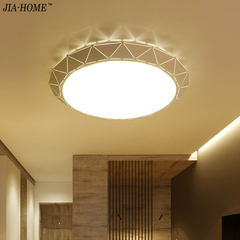 Modern Smart Remote Control LED Ceiling Lamp Dimming Home Bedroom Living Room Ceiling Lights Fixture