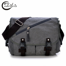 Personality Multi-function Men Shoulder Bag W311 Canvas Women Handbag Crossbody Bag Personality Multi-function Men Shoulder Bag