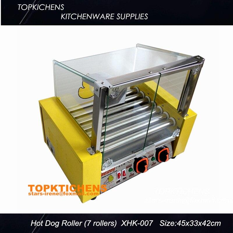 Commerical Hot dog grill Hot -dog Maker,Hot-Dog machine_Sausage Grill XHK-007 hot