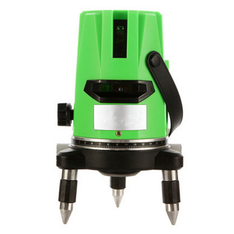 2 Lines Green Laser Level 360 Degree Rotary Cross Laser Self-leveling Nivel A Laser Can Be Used Outdoor Construction Tool 5 line red green 360 degree rotary laser level high accuracy self leveling cross meter construction level measuring tool