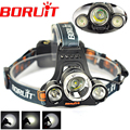 Best Selling 3000LM Headlamp Hunting Head Light Headlight Bike Lamp Rechargeable LED Front Head Torch LED Flashlights By 2x18650