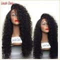 Best Soft 150 Density Human Hair Kinky Curly Wig Full Lace Brazilian Virgin Hair Glueless Kinky Curly Full Lace Human Hair Wigs