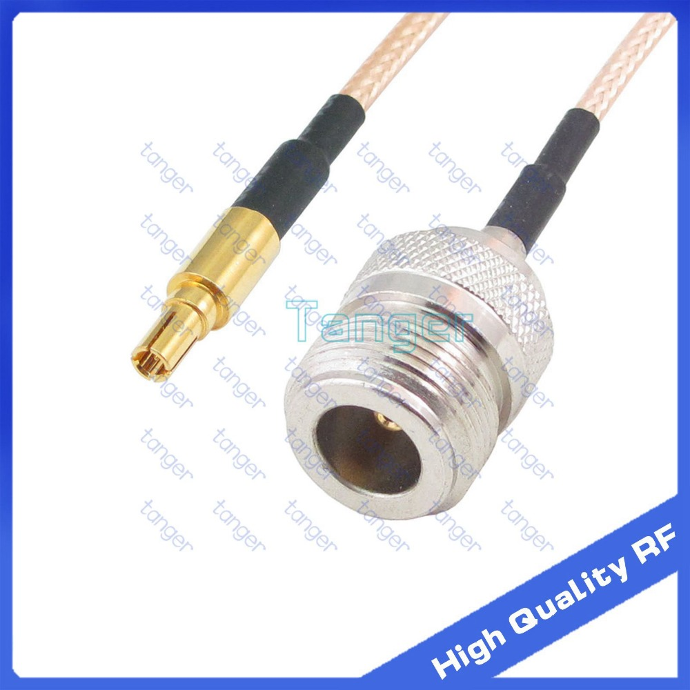 Tanger High Quality  6inch CRC9 male plug  to N female jack with RG-316 RF Coaxial Pigtail Jumper cable 6 15cm Tanger RF cables antenna extension y type cable 1 sma female jack to 2 rpsma male connector with rg316 rg 316 rf pigtail jumper cable 8 inch 20cm