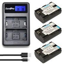 3 pcs LP-E6 LP-E6N Baterias Recarregáveis + um Display LCD Carregador de Bateria USB para Canon 5DII 5D2 5D3 7D 70D 6D 60D Digital câmera