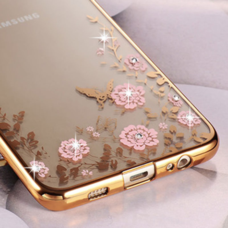 new arrival 2d748 114d4 US $4.53 |Bling Clear Plating Cover Case For Samsung Galaxy S7 / S7 Edge  G9350 Coque Luxury Silicone Diamond Crystal Soft Shell TPU Capa on ...