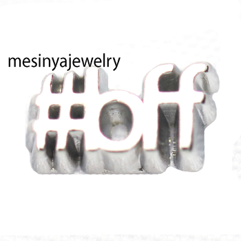 10pcs New Style BiFF Custom Floating Charms For Glass Locket image