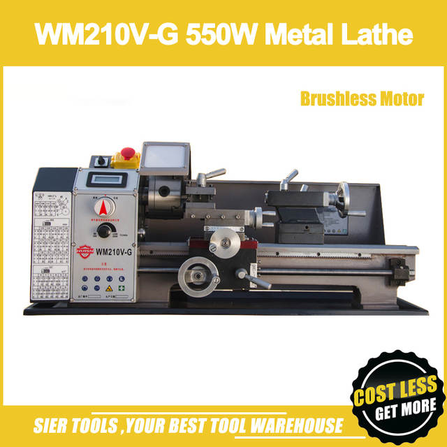 Online Shop Wm210v G 550w Metal Lathebrushless Motor Mini Lathe