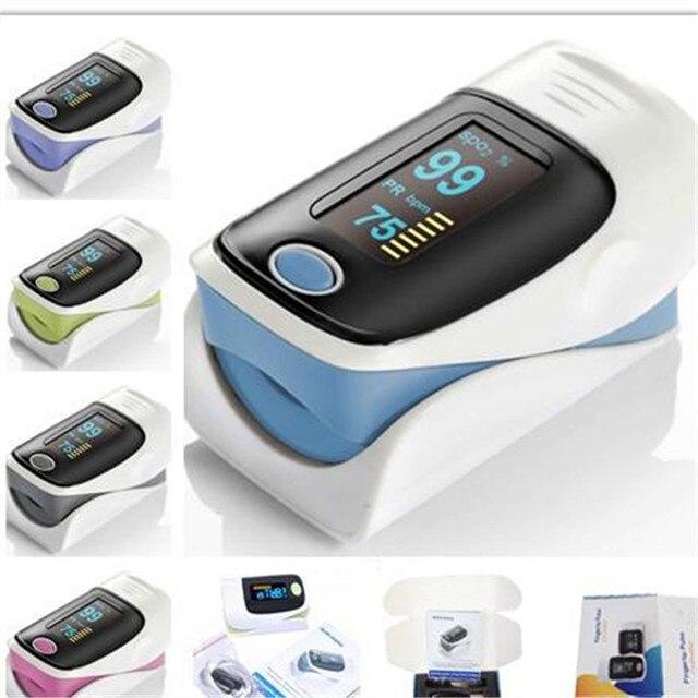 2016 Горячий продавать Новый Нажатием Пульсоксиметр SPO2 Частота Пульса Монитор Кислорода для здоровья бытовой Измерения