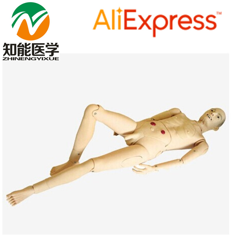 BIX-H220A Advanced Male Full Function Nursing Training Manikin WBW103 advanced full function nursing training manikin with blood pressure measure bix h2400 wbw025