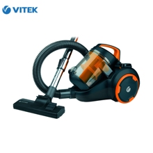 Vacuum cleaner VITEK VT-8125 BK 2000 watts cyclonic filter 25 l without bag 400 W