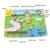 Do bebê dos miúdos música jogar Mat 70 * 50 cm Musical educacional Animal da fazenda tapete toque jogar brinquedo
