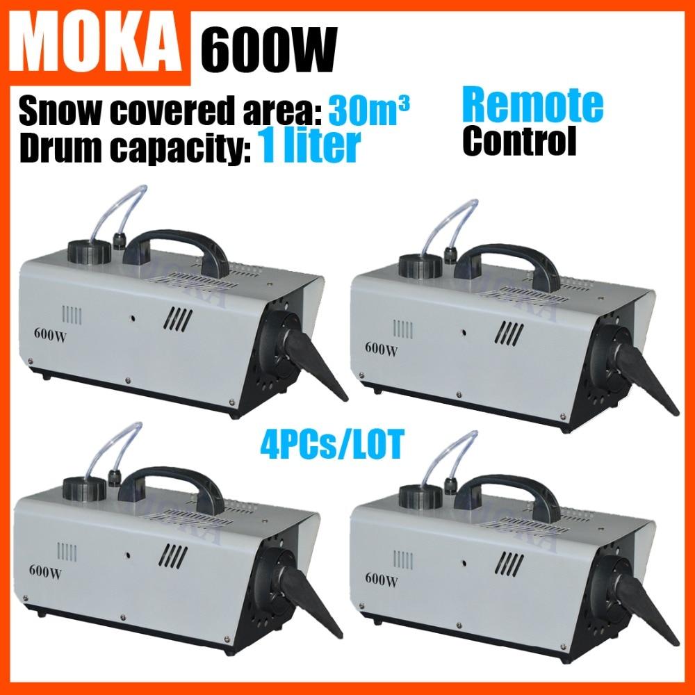 4 pcs/lot  DMX512 Cable Control  Snow Blower Machine Stage Effect Machine for Dance Disco Party  DJ Wedding Christmas  недорого