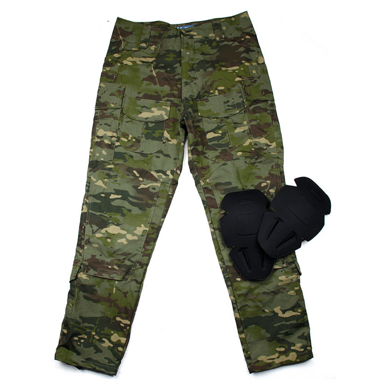 MTP <font><b>G3</b></font> Ripstop <font><b>combat</b></font> <font><b>pants</b></font> with knee protection / Tactical Army Ripstop <font><b>Pants</b></font> Multicam Tropic image