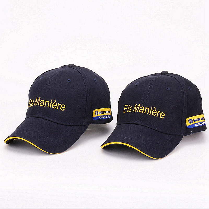 031c4fa3a76  HATLANDER Casual Promotion Navy cotton baseball caps for mens outdoor  sports hats women gorras casquette hip hop letter hat cap-in Baseball Caps  from ...