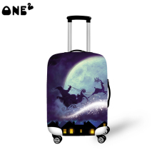 ONE2 beautiful design modern stylish travel luggage cover cool pattern good quality 22,24,26 inch for suitcase teenage