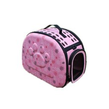 Foldable 0-5KG Pet Carrier EVA Dog Bag Portable Cats Dogs Bags 3Color Fashion Pattern Handbag For Pets Carriers Travel Outside