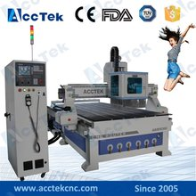 ACCTEK  9kw spindle linear auto tool changer atc woodworking cnc machinery