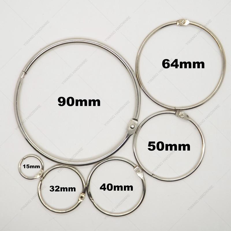 Piece Metal Ring Binder