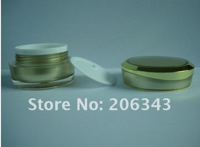 olhos gel essência hidratante plástico jar embalagens de cosméticos