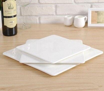 plastic melamine porcelain plates cooking plate dish flat square plate dish plastic tray & plastic melamine porcelain plates cooking plate dish flat square ...
