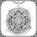 MJP0013 (Almofadas Livre) Aromaterapia Difusor Colar Pingente Medalhão Pessoal Wearable Aroma Difusor de Óleos Essenciais