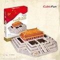 Дети Игрушки Cubicfun 3D Головоломка Головоломки Дворец-Музей, Модель, китай Вкус Головоломки 3D Модель, рождественский Подарок Развивающие Игрушки