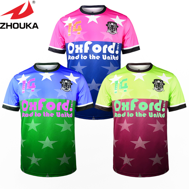 New Pattern Design Custom Your Team Soccer Jersey Sublimation ...