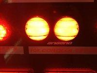 назад окруженные светодиодные фонари для Королла 07