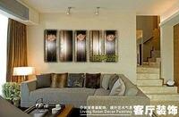 ручная роспись цветок цвести лилии орхидеи тюльпан лотоса картина маслом стены холст художественное произведение исламский сайт papel де пареде пункт кварто 50004